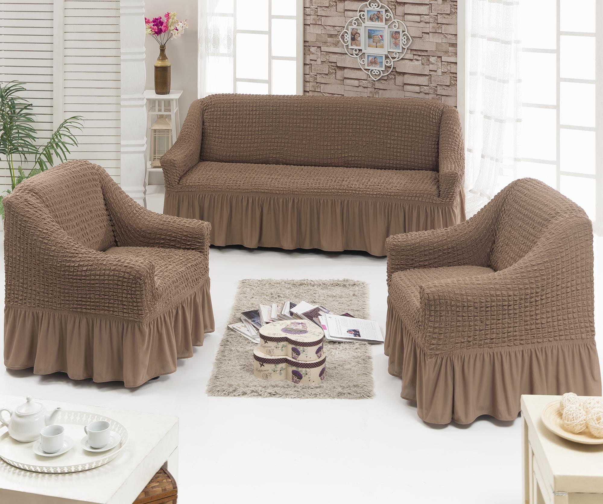 Чехлы на диваны и кресла своими руками