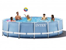 Бассейн каркасный Intex Metal Frame Pool - 28718 366х99см