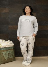 "Пижама ""Buongio Plus Size Pants"""