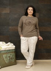"Пижама ""Liss Plus Size Pants"""