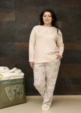 "Пижама ""Cookie Plus Size Pants"""