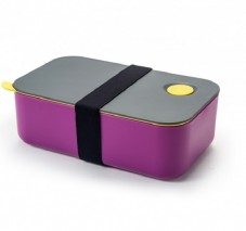 Ланч-бокс с одним отделением и разделителем, 1 л. Single Layer Fashion Bento Box
